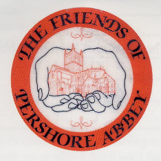 Crest of the Friends of Pershore Abbey